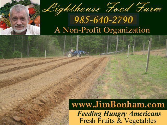 Lighthouse Food Farm - A NonProfit Organization - Feeding Hungry Americans Fresh Fruits and Vegetables - 864-647-2084